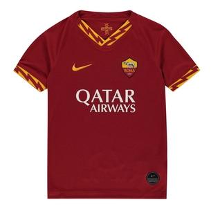 Nike AS Roma 19/20 Home Replica Kids Football Shirt