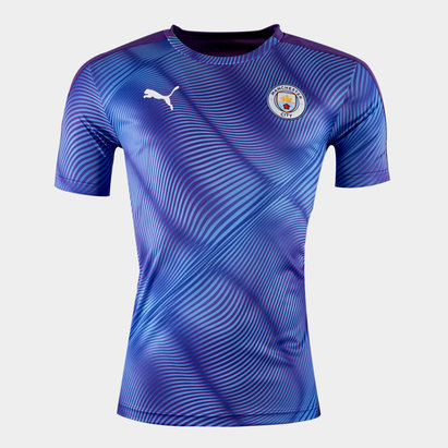 Puma Manchester City 2019/20 Stadium S/S Football Shirt