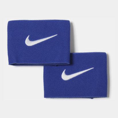 Nike Sujeta Espinilleras Ancho - Azul Royal/Blanco