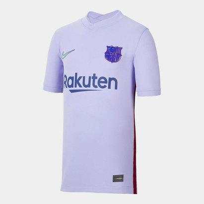 Nike Barcelona Away Shirt 2021 2022 Junior