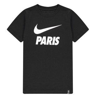 Nike Paris Saint Germain Club T-Shirt 2021 2022 Kids