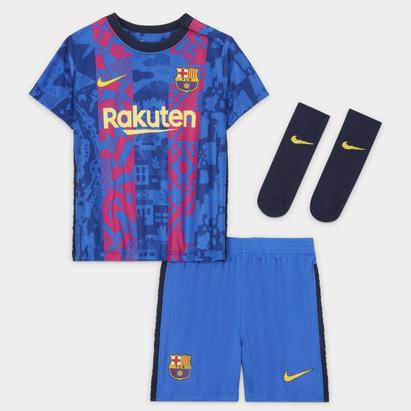 Nike Barcelona Third Baby Kit 2021 2022