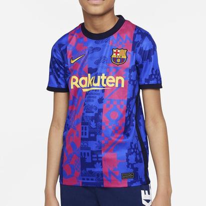 Nike Barcelona Third Shirt Kids 2021 2022