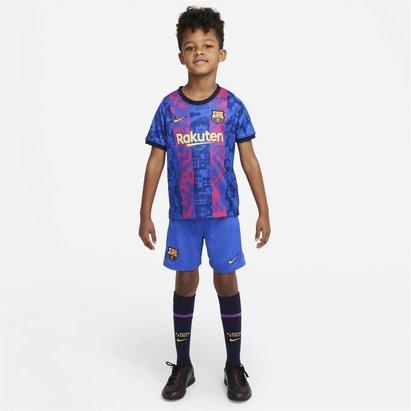 Nike Barcelona Third Mini Kit 2021 2022