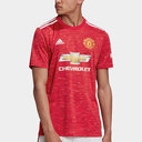 Manchester United Home Shirt 20/21 Mens