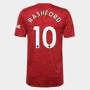 Camiseta Local Manchester United Marcus Rashford 20/21