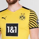 Borussia Dortmund Authentic Home Shirt 2021 2022