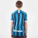 Inter Milan Short Sleeve T Shirt Juniors