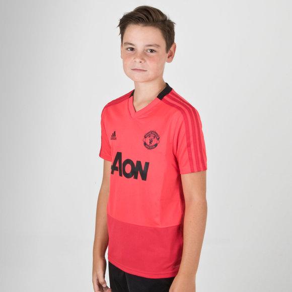 511029b8d5 adidas Manchester United 18 19 Camiseta de Entrenamiento de Futbol ...