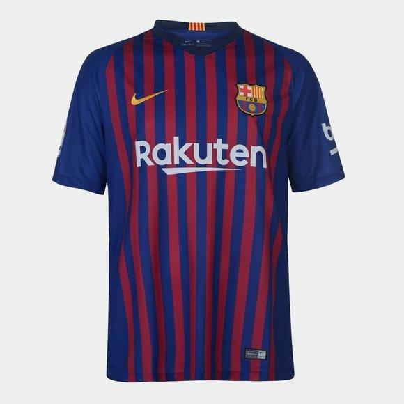 Nike FC Barcelona 18 19 Home Stadium Camiseta de Futbol 91c0e5fd19cc5
