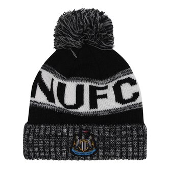 Newcastle United Home Crest Bobble Hat