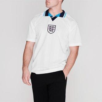 Inglaterra 1996 Campeonato Europeo Retro - Camiseta de Fútbol
