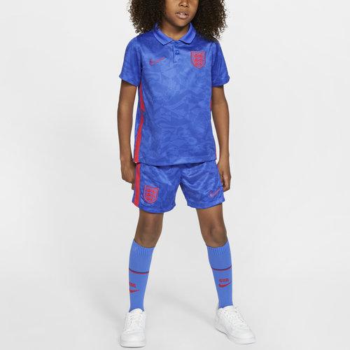 England 2020 Away Mini Kids Football Kit