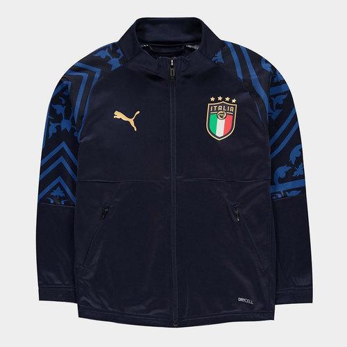 Italy 2020 Kids Stadium Football Jacket
