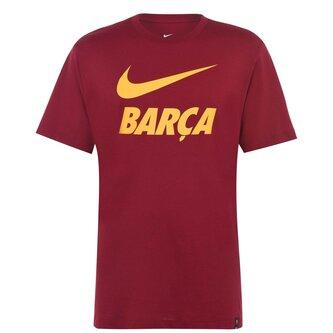 FC Barcelona T Shirt Mens