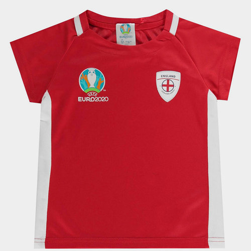 Euro 2020 England Poly T Shirt Infants