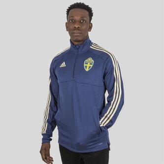 Suecia 2018 1/4 Zip Fútbol - Top de Entrenamiento