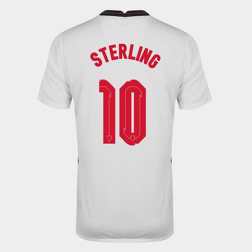 Camiseta de Inglaterra Raheem Sterling 2020