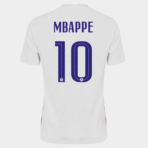 Camiseta De Francia Kyllian Mbappe Visita 2020