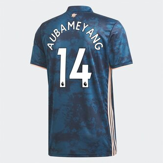 Camiseta Arsenal Pierre Emerick Aubameyang Tercera 2020-2021 Junior