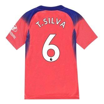 De Niños Camiseta Del Chelsea Thiago Silva tercera 20/21