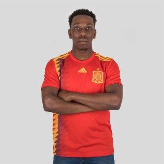 España 2018 Home M/C Réplica - Camiseta de Fútbol