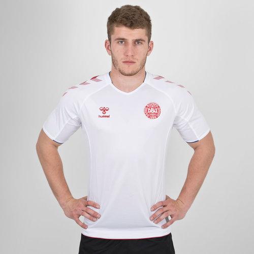 Dinamarca 2018 Copa del Mundo Away M/C - Camiseta de Fútbol