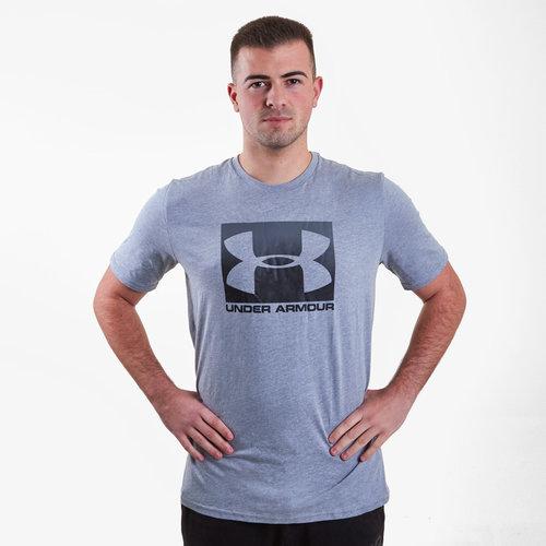 Ua Boxed T-Shirt de Entrenamiento Deportiva