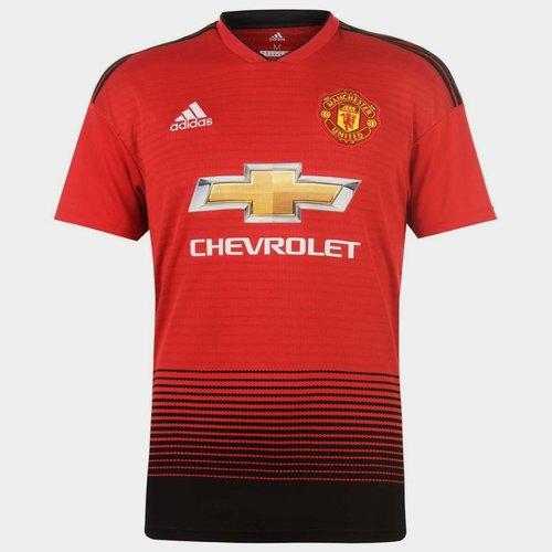 Manchester United 18/19 Home M/C Réplica - Camiseta de Fútbol