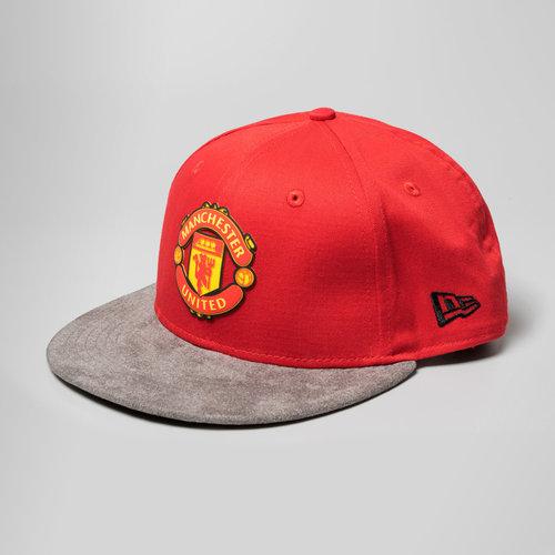 Manchester United 9Fifty Suede Vize Gorra de Futbol