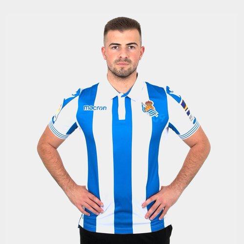 Real Sociedad 18/19 Home Camiseta de Futbol