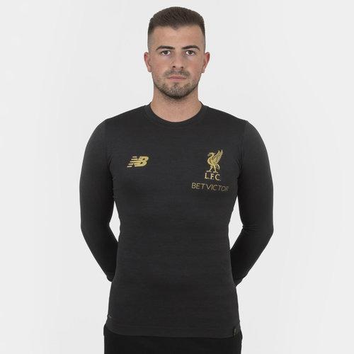 Liverpool FC 18/19 Managers - Camiseta de Fútbol sin Costuras M/L