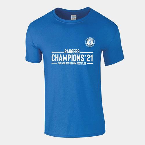 Rangers Champions Camiseta