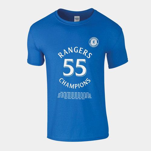 Rangers 55 Champions Camiseta