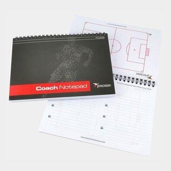 Cuaderno profesional para entrenadores de fútbol tamaño A5